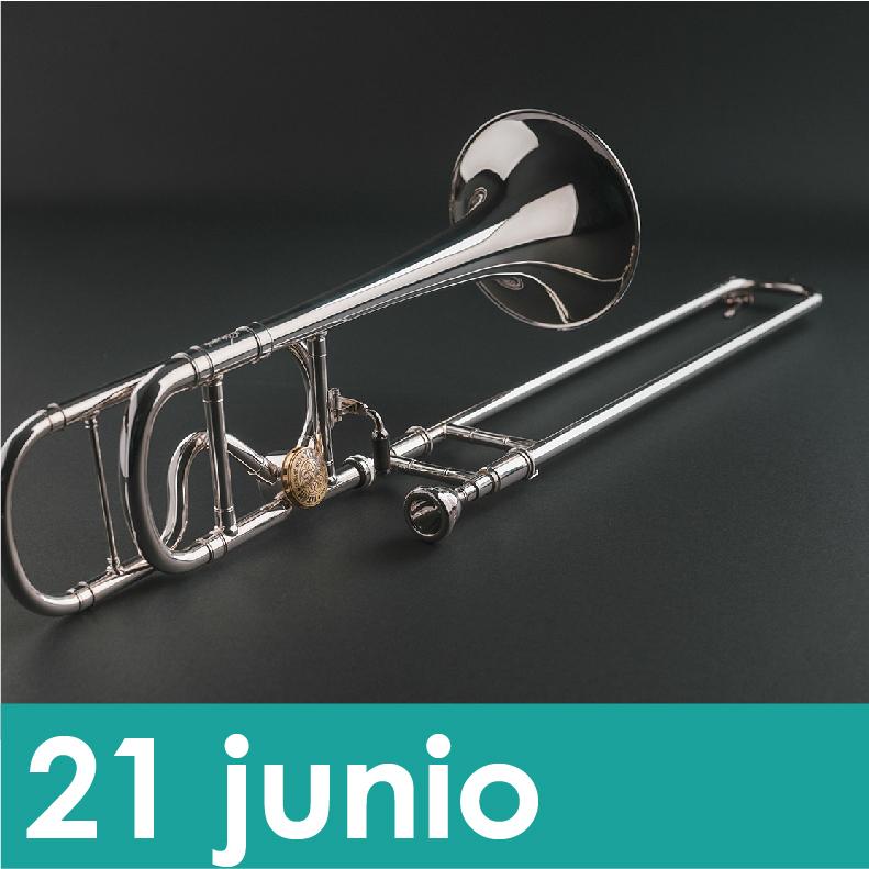 """CONCIERTO: Cuarteto de Trombones """"TRESPUNTÁ"""" - ¿Cuál Es El Plan?"""