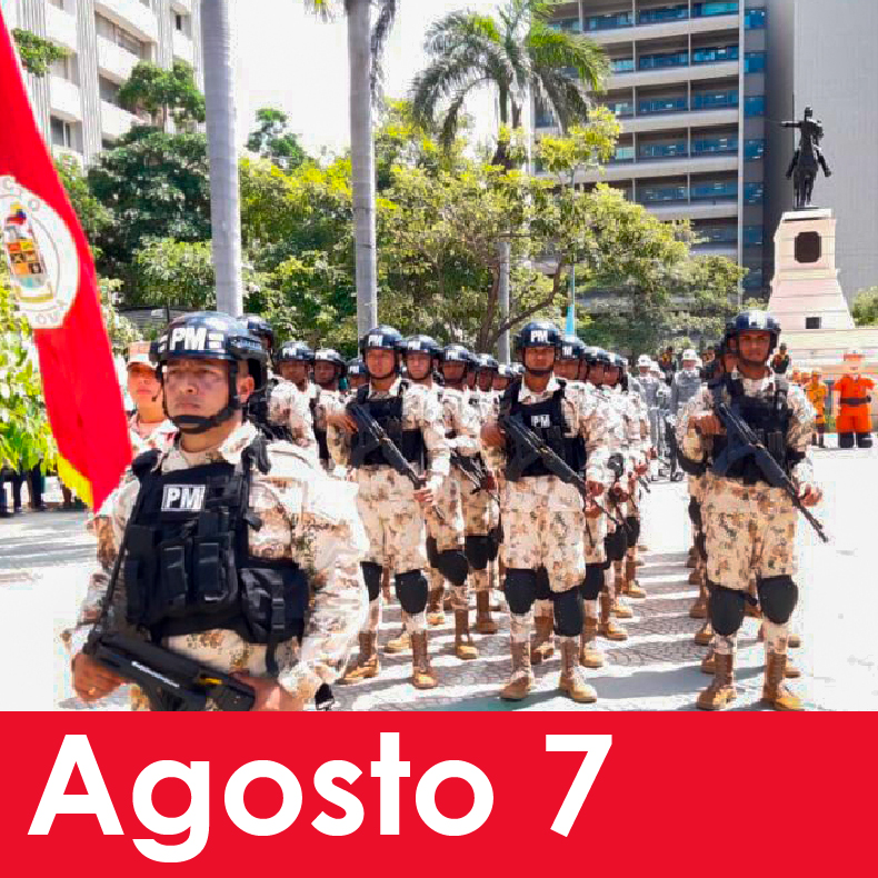 Acto Cívico Militar: BICENTENARIO DE LA BATALLA DE BOYACÁ